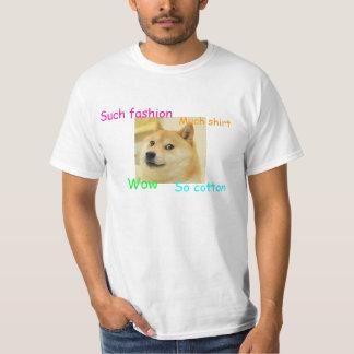 De T-shirt van de Doge van de douane