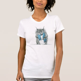 De T-shirt van de Eekhoorn van Hipster