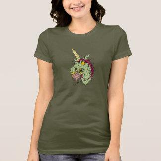 De T-shirt van de Eenhoorn van de zombie