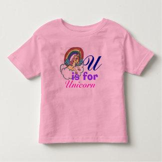 De T-shirt van de Eenhoorn van het Meisje van de