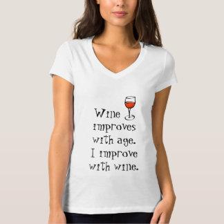 De T-shirt van de Enthousiast van de wijn