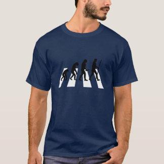 De T-shirt van de Evolutie van de Weg van de abdij