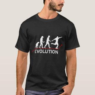 De t-shirt van de Evolutie van het voetbal