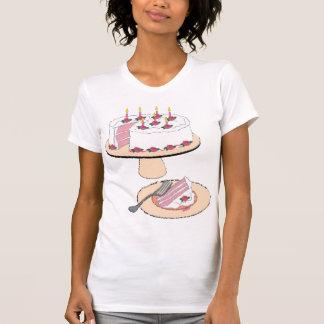 De T-shirt van de fancy Vrouwen van de Cake van de