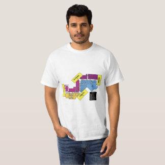 De T-shirt van de Folder van de wandelgalerij