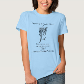 De T-shirt van de genealogie