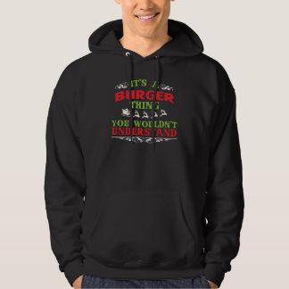 De T-shirt van de gift voor HAMBURGER