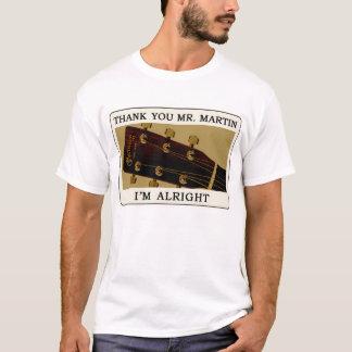 De T-shirt van de Gitaar van Bluegrass - dank u M.