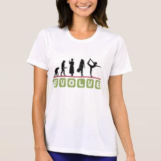 De T-shirt van de grappige Vrouwen van de Yoga