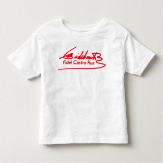 De T-shirt van de Handtekening van Fidel Castro