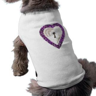 De T-shirt van de Hond van het Hart van de kast