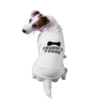 De T-shirt van de Hond van het Huwelijk van de Vli
