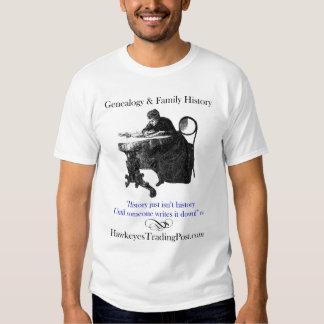 De T-shirt van de Inspiratie van de genealogie met