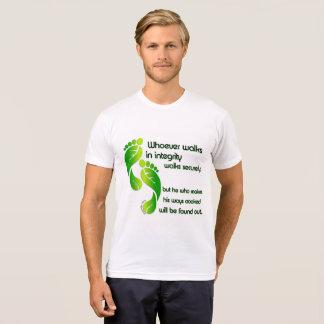 De T-shirt van de Integriteit van gezegden