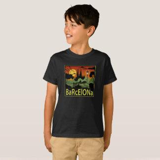 De T-shirt van de Jongen van Barcelona
