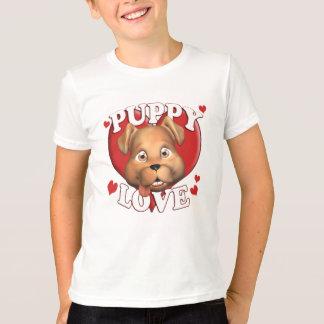 De t-shirt van de kalverliefde