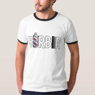De T-shirt van de kapper