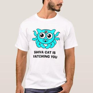De T-shirt van de Kat van Shiva