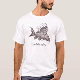 De T-shirt van de Katvis van eupterus van