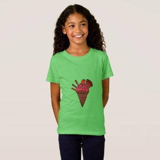 De T-shirt van de Kegel van het roomijs