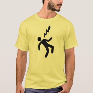 De T-shirt van de Kerel van de elektrische schok