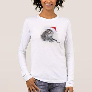De t-shirt van de Kerstman van Purrfect