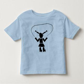 De T-shirt van de Kinderen van het springtouw