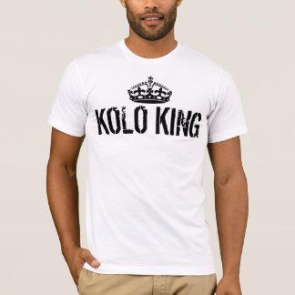 De T-shirt van de Koning van Kolo