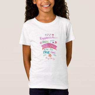 De T-shirt van de kunstschaats