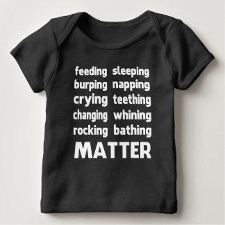 De T-shirt van de Kwestie van het Leven van babys