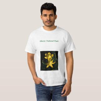 De T-shirt van de Lelies van de Gletsjer van het