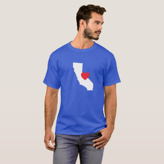 De T-shirt van de Liefde van Californië