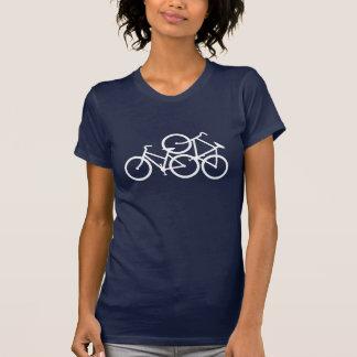 De T-shirt van de Liefde van de fiets