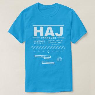 De T-shirt van de Luchthaven HAJ van Hanover