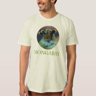 De T-shirt van de Mascotte van Mongabay