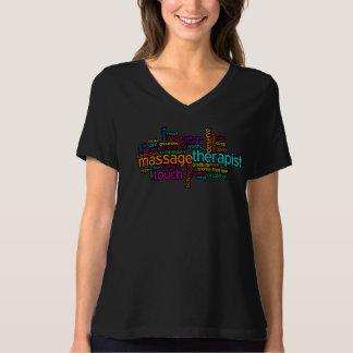 De T-shirt van de massage: De Therapeut van de