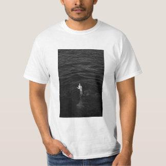 De t-shirt van de middelvinger