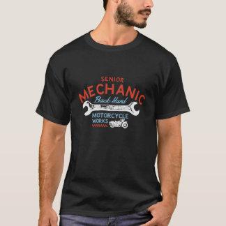 De T-shirt van de motorfiets