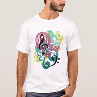 De T-shirt van de muziek