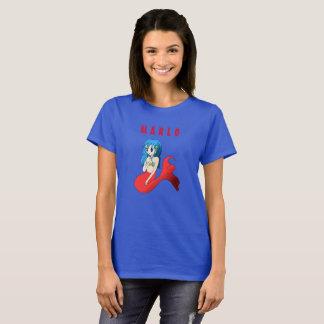 De T-shirt van de Naam van de meermin