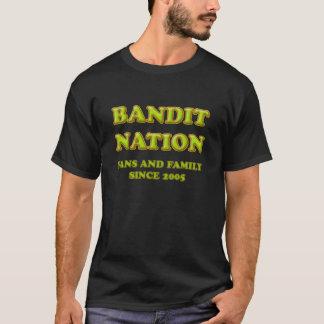 De T-shirt van de Natie van de bandiet