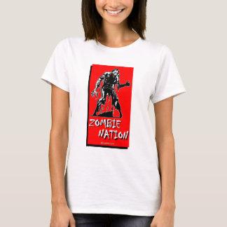 De T-shirt van de Natie van de zombie