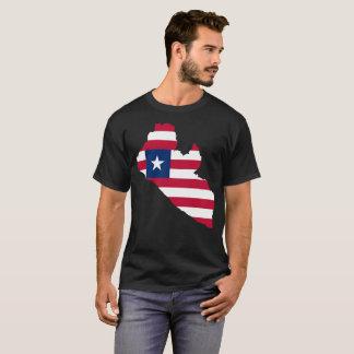 De T-shirt van de Natie van Liberia