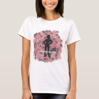 De t-shirt van de Natie van Pantsuit