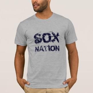 De T-shirt van de NATIE van SOX