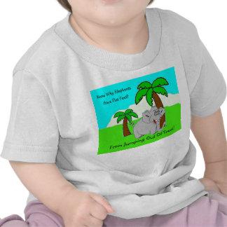 De T-shirt van de Olifant van de peuter