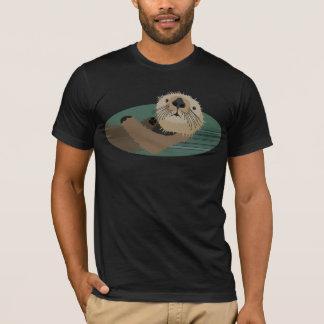 De t-shirt van de otter