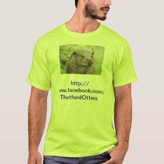 De T-shirt van de Otters van Thetford