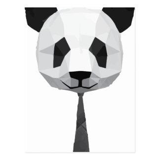 De T-shirt van de Panda van het kantoor Briefkaart