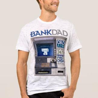 De T-shirt van de Papa ATM van de bank